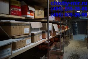 уборка помещений склада