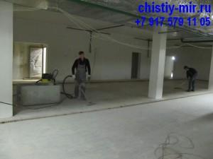 уборка после ремонта и строительства
