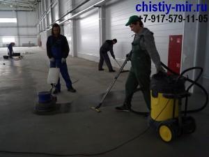 уборка помещений после ремонта цена