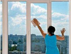 мытье окон в квартире