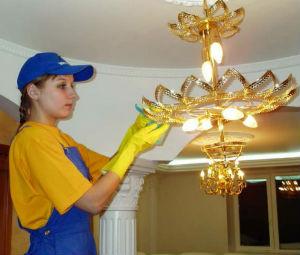 чистка светильников